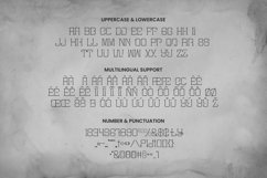Web Font Mister Slab Font Product Image 5