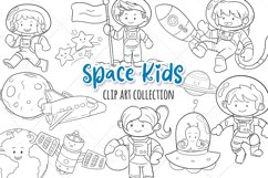 Space Kids Science Digital Stamps Product Image 1