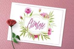 Web Font Primrose Heart Product Image 5