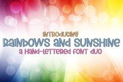 Web Font Rainbows And Sunshine Product Image 1