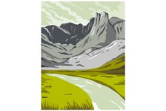 Gates of the Arctic National Park and Preserve Oolah Valley Product Image 1