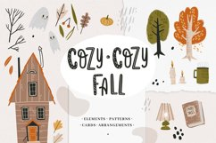 Cozy-cozy fall clipart collection Product Image 1