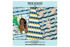 African American Mermaid Digital Paper Black Beautiful Product Image 5