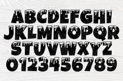 Dripping Font SVG, Dripping Letters, Alphabet Clipart Product Image 3