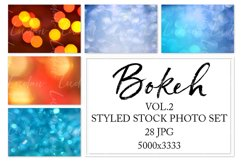 Bokeh. Styled stock photo set. Vol.2 Product Image 1