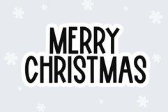 Web Font Winter Holiday - A Fun Handwritten Font Product Image 3