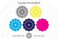Layered mandala svg, multi layer mandala Product Image 4