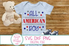 4th Of July, Patriotic SVG,USA Boy SVG, Stars And Stripes Product Image 2
