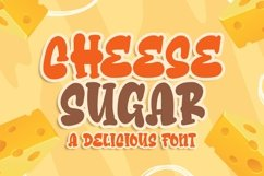 Cheese Sugar a Delicious Font Product Image 1