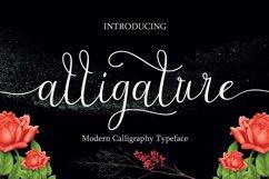 Alligature script Product Image 1