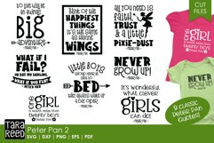 Peter Pan Quotes - SVG and Cut Files for Crafters Product Image 1