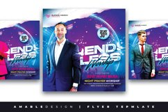 Endless Worship Church Flyer Product Image 1