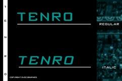 Tenro Display Font Product Image 2