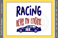Racing SVG, Racing Revs My Engine Product Image 1