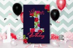 Birthday Card, Happy First Birthday,Cute 1st Birthday, SALE Product Image 3