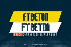 FT Beton Punch Compressed Product Image 1