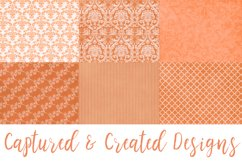 18 Richly Orange Digital Paper Pack Product Image 4