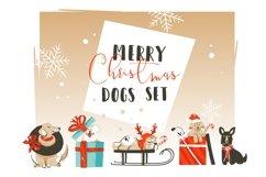 Christmas dogs set Product Image 1