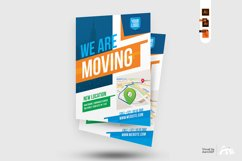 We Are Here Moving Announcement Flyer Template Product Image 2