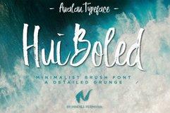 Hui Boled Hand Brush Typeface Product Image 1