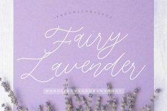 Fairy Lavender Monoline Handdraw Font Product Image 1