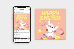 Happy Easter Day Vol.2 - Flyer, Poster & Instagram AS Product Image 3