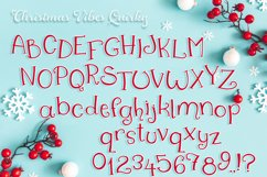 Christmas Font   Christmas Split Monogram Font Product Image 3