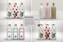 Cork & Cap Bottle Packaging MockUps Product Image 3