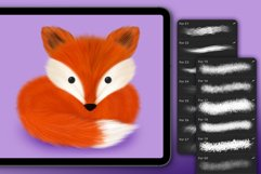 FUR BRUSHES FOR PROCREATE Product Image 4