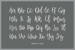 Albret || Multilingual Handwritten Script Font Product Image 2