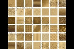 42 Antique Gold Glitter and Sequin Papers Product Image 5