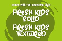 Fresh Kids - Summer Font Product Image 3