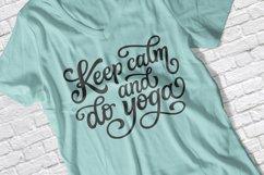 12 Yoga quotes SVG Bundle, lotus flower SVG Product Image 2