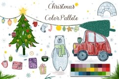 50 Procreate Christmas Stamps and Brushes Product Image 4