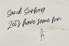Kites String Handwritten Font Product Image 2