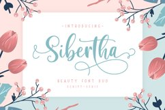 Sibertha - Font Duo - Product Image 1