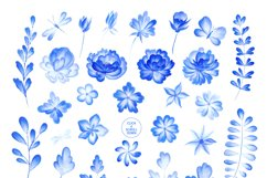 Blue Romance. Watercolor collection. Product Image 3