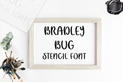 Bradley Bug Stencil Font Product Image 1