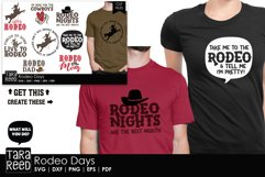 Rodeo Days - Rodeo SVG and Cut Files for Crafters Product Image 2