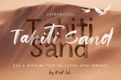 Tahiti Sand. Fonts and Graphics. Product Image 1