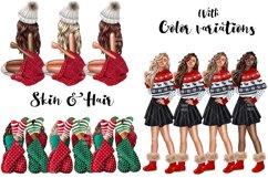 Fashion CHRISTMAS Girl Illustration Product Image 4