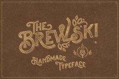The Brewski - Textured Typeface Product Image 1