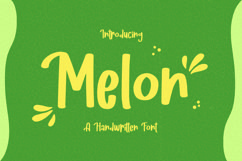 Melon - Fancy Handwritten Font Product Image 1