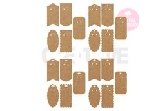 20 Templates Key Ring Display Card | Keychain card| EDC006 Product Image 3