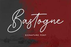 Bastogne Signature Font Product Image 1