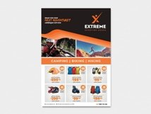A4 Sports Outlet Poster Templates Product Image 5