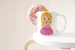 Cute Princess Clip art Set 2 Product Image 2