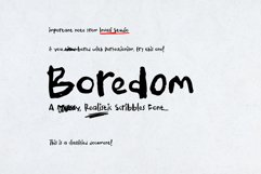 Boredom Handwritten Font Product Image 1