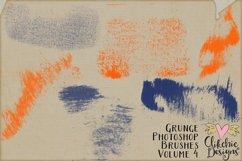 Photoshop Brushes - Grunge Ink Texture Brushes Vol 4 Product Image 3