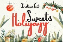 Web Font Sweets Holiyayy - Christmas Font Product Image 1